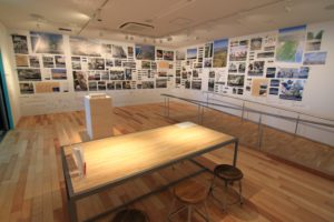The guided tour of the Sendai 3/11 Memorial Community Center Passing down the memories and experiences of the  Great East Japan Earthquake, as well as conveying the lifestyle and culture of the eastern coastal area of Sendai City, Miyagi Prefecture.