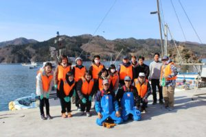 Create a Reason for Living: Fishery and Tourism in Ogatsucho, Ishinomaki. Aim for the Revival of the Town and People's Hearts