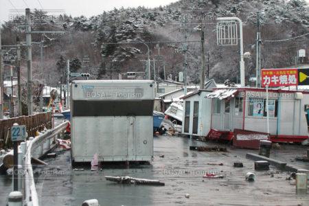 浜田地区津波被災状況