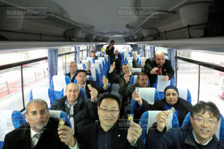 被災地ガイドバス