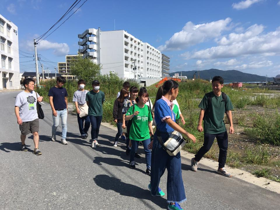 Ishinomaki City:Brand new town planning from an affected area.