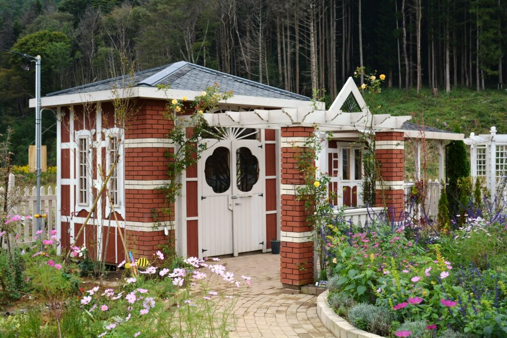 Ogatsu Rose Factory Garden