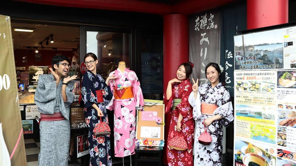 Rental Kimono (Matsushima & Sendai)