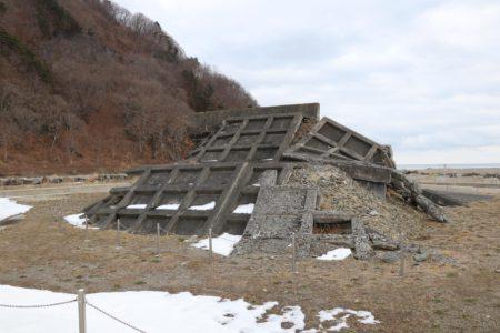 震災遺構明戸海岸防潮堤